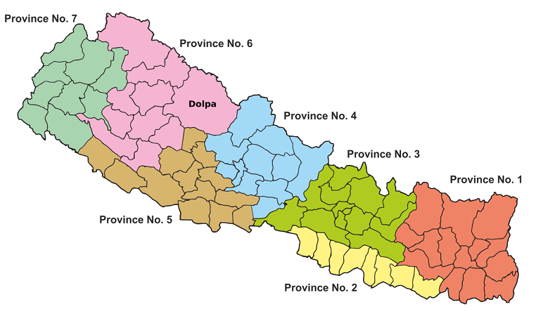 Provinces of Nepal 2015