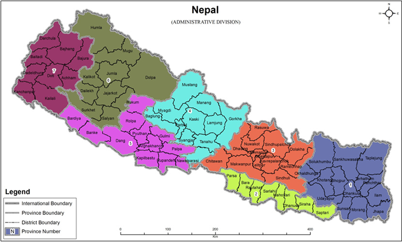 Provinces of Nepal 2017